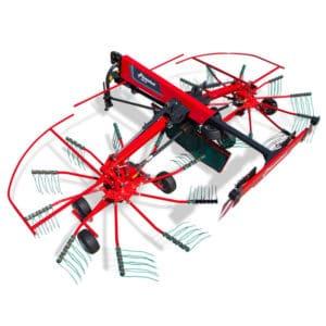 Kverneland-farm-sale-da-forgie-northern-ireland-forage- multi-rotor-rakes-9464m-1